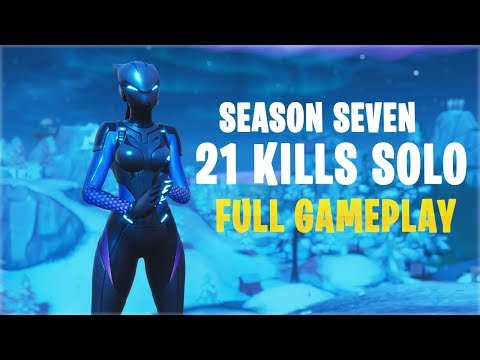 21 Kills Solo - Season 7 | Console - Fortnite Gameplay
