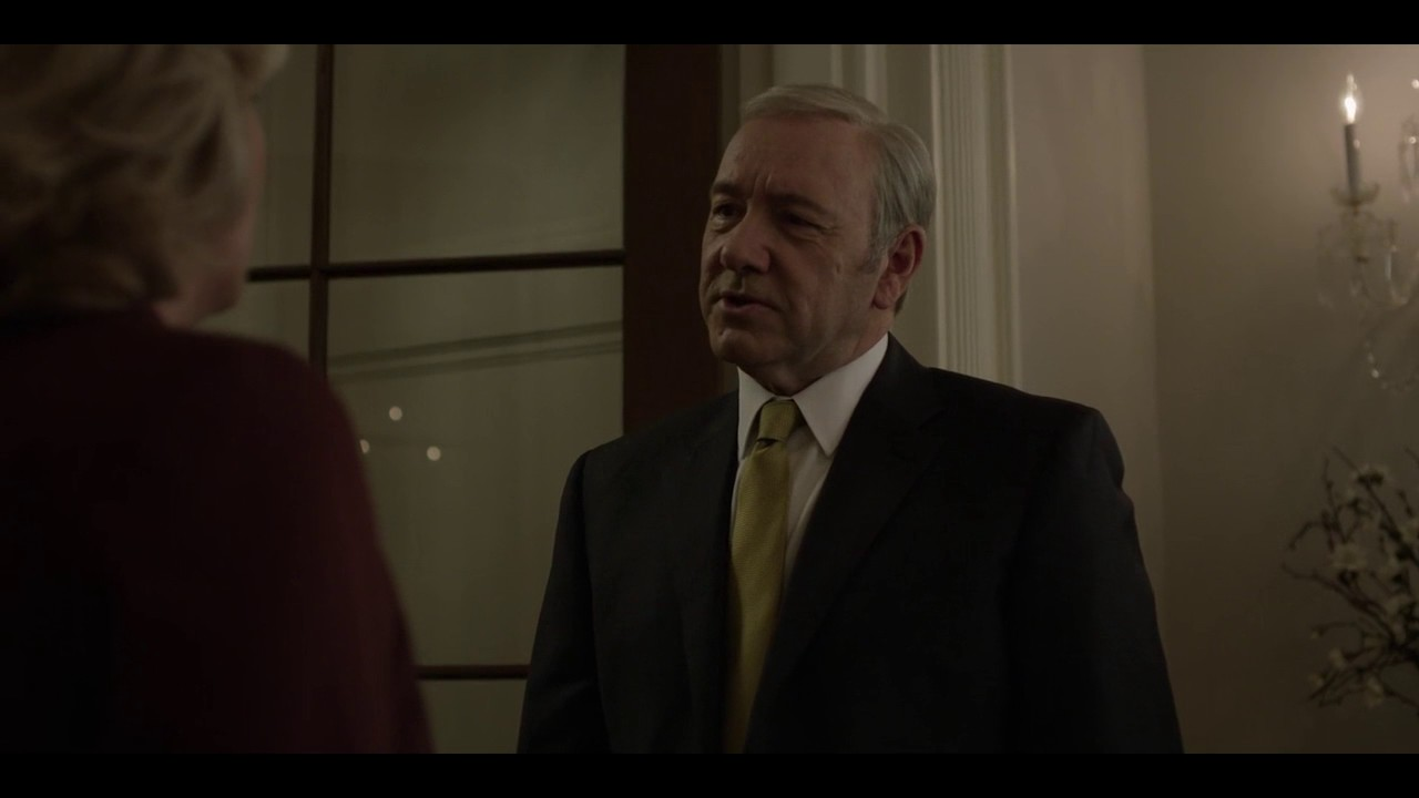 Frank Pushes Cathy Durant House Of Cards Season 5 Youtube