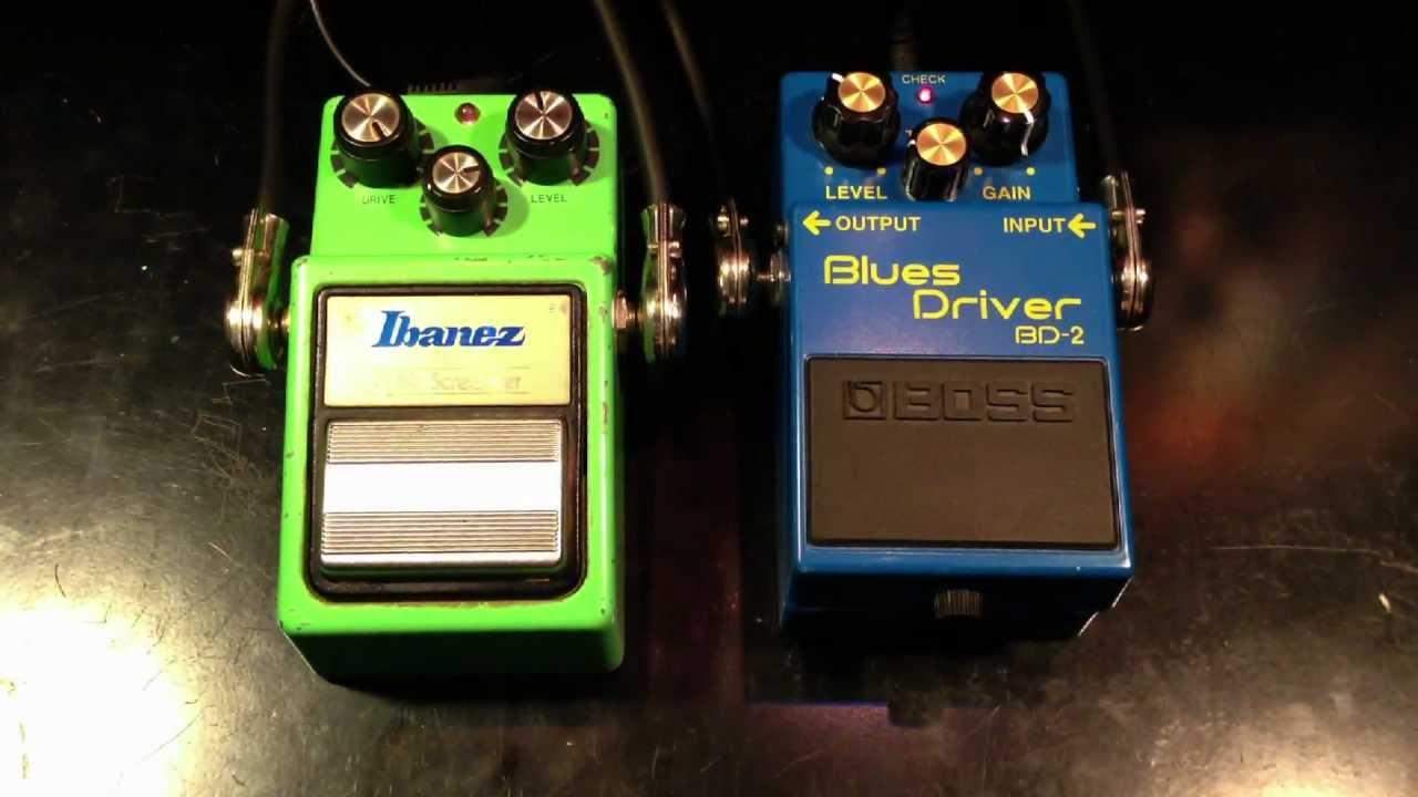Blues Driver BD-2 VS Tube Screamer TS 808 And The WINNER Is