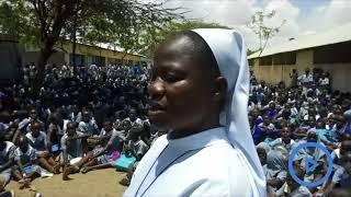 County demolishes girls' school exposing 1500 girls to 'stubborn strangers'