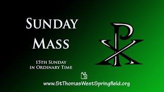Sunday Mass July 12, 2020