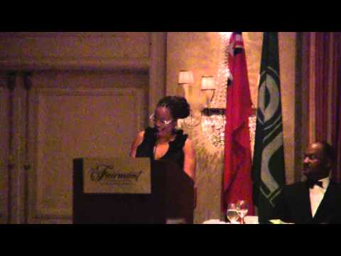 Kim Wilson Introduces Speaker At PLP 44th Annual Conference Banquet Bermuda October 29 2011
