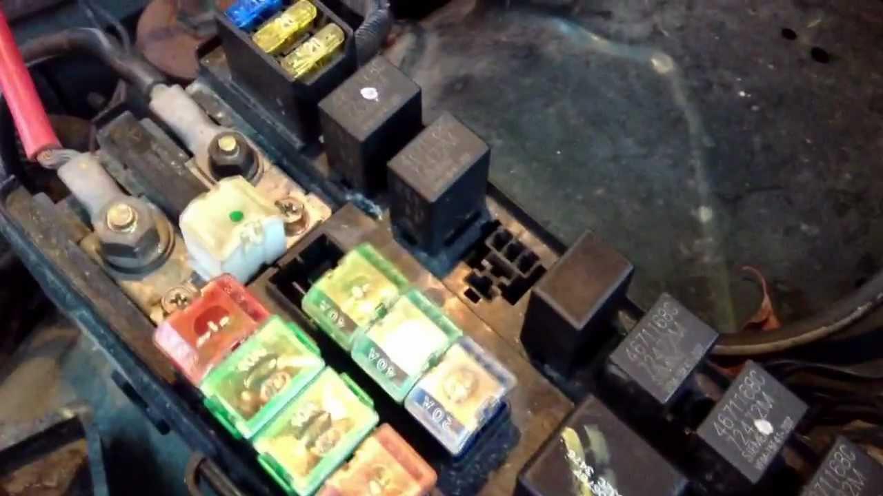 Dodge ram 1500 fuse box gone bad  YouTube
