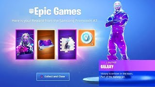 New GALAXY PACK on FORTNITE and SKIN IN THE FORTNITE BOUTIQUE of JANUARY 27!! LIVE