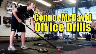 How Connor McDavid Trains - Stickhandling Drills