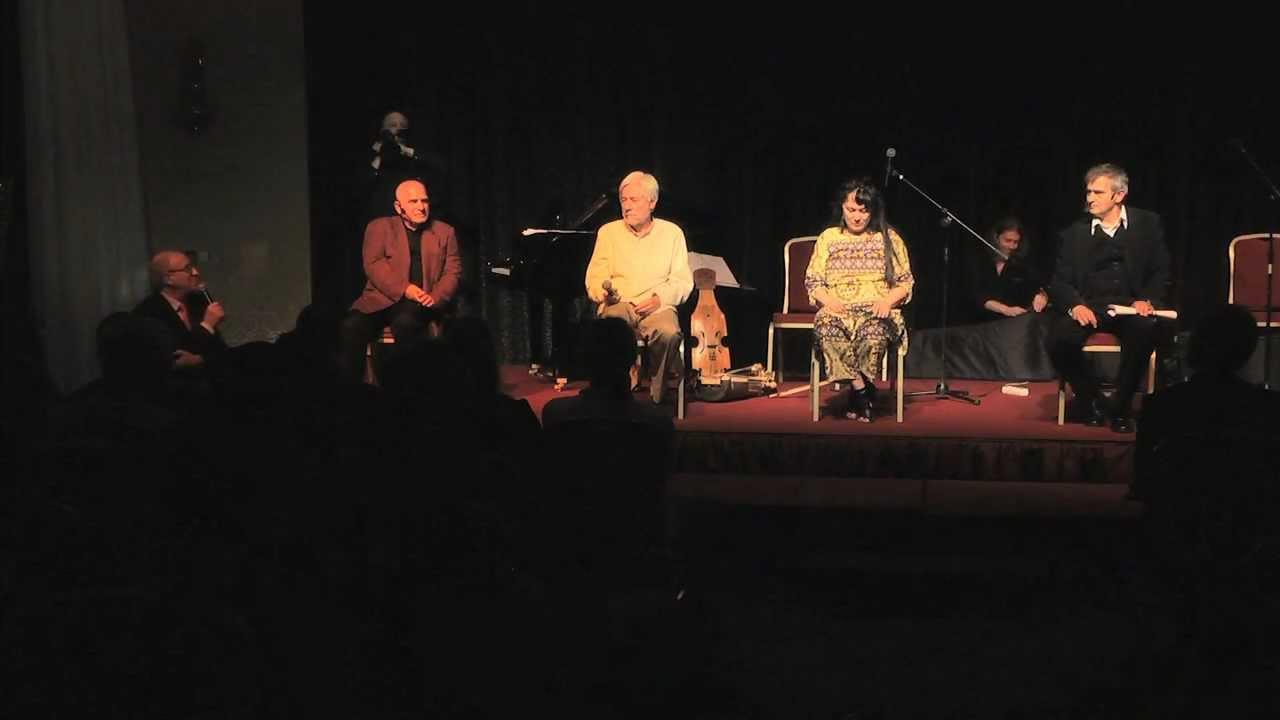 II Forum Humanum Mazurkas - dyskusja - Olgierd Łukaszewicz i Henryk Talar- aktorzy z duszą