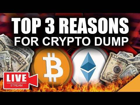 Top 3 Reasons BITCOIN \u0026 CRYPTO Price Is DUMPING NOW