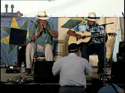 John Cephas and Phil Wiggins discuss the Piedmont blues style