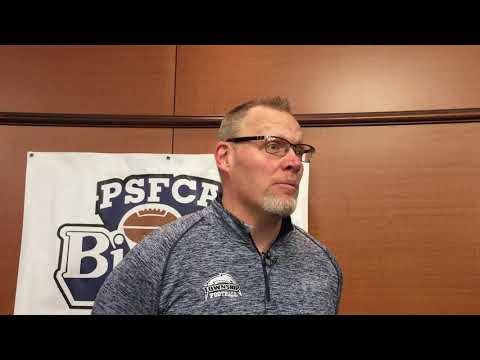 Manheim Twp. football coach Mark Evans on earning top post for Big 33 game