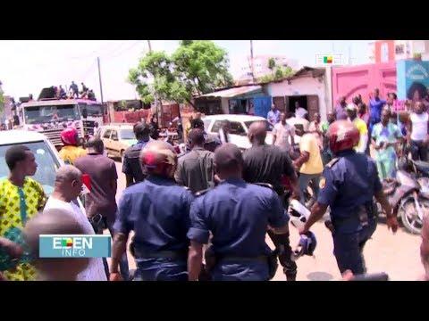 Cotonou : la police sauve un jeune homme de la vindicte populaire