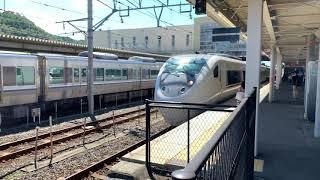 JR西日本 681系しらさぎ 発車 米原駅