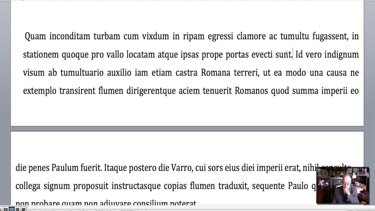 versione latine livio