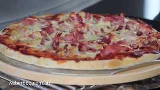 البيتزا على Weber® Q tm