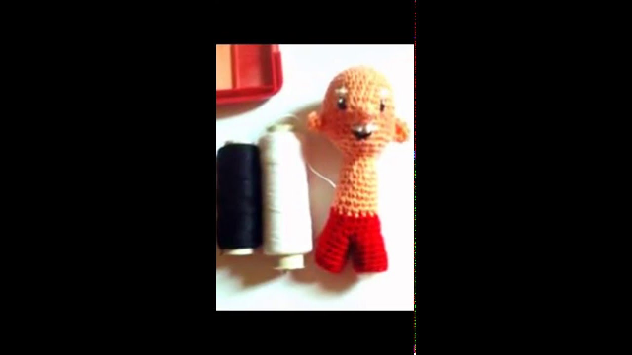 Tutorial Amigurumi Annarellagioielli : Amigurumi crochet santa claus tutorial youtube
