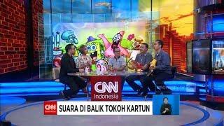 Ada Spongebob, Donald Bebek, Mr. Crab Di CNN Indonesia!