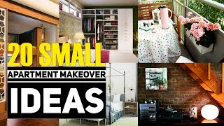 20 Small apartment makeover idea