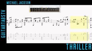 Thriller Fingerstyle Guitar Tabs Michael Jackson (Sungha Jung)