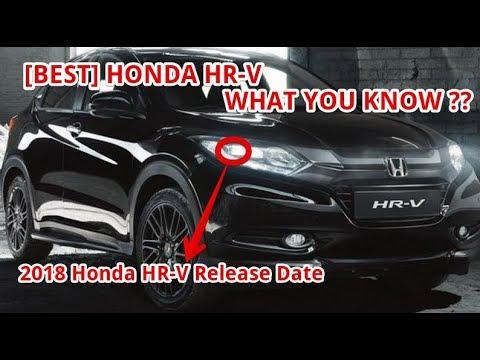 [BEST] 2018 Honda HR-V Release Date