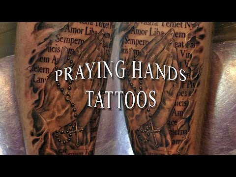 Praying Hands Tattoos