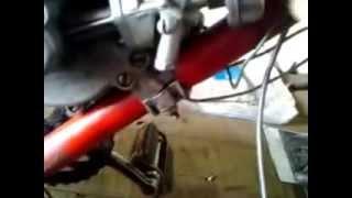 Ремонт мопеда Рига-13:Мини-разборка сцепления(Ч1)