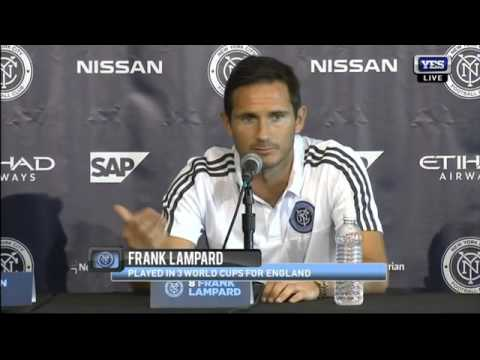 NYCFC introduces Frank Lampard