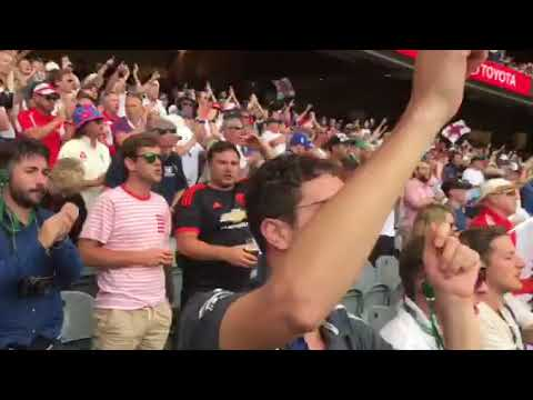 Barmy Army Jonny Bairstow song