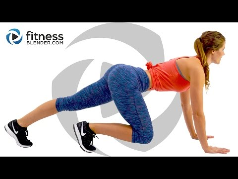 Brutal HIIT Cardio and Strength Butt and Thigh Workout - Burn Fat, Build Lean Muscle (Bored Easily)