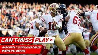 Jimmy Garoppolo Leads Game-Winning 92-Yd Drive! | Can't-Miss Play | NFL Wk 13 Highlights