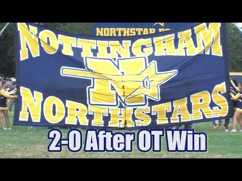 Nottingham 24 Moorestown 21 | Ja'ier Nelson Two First Half TDs