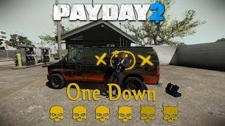 [PayDay 2] Bank GO - Death Sentence/One Down (Solo Stealth)