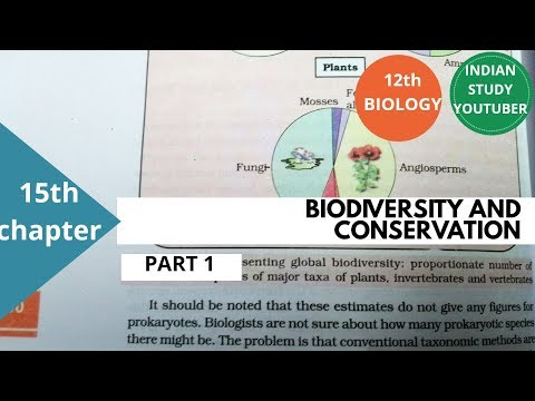 NCERT Class 12th Biology chapter 15: Biodiversity and conservation, PART 1 (INDIAN STUDY YOUTUBER) thumbnail