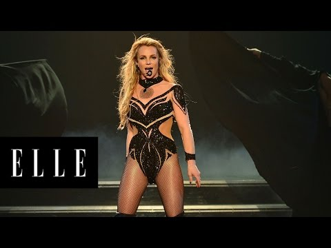21 of Britney Spears' Amazing Stage Outfits Through The Years  | ELLE