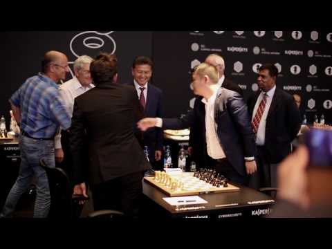 FIDE World Chess Geneva Grand Prix has started!