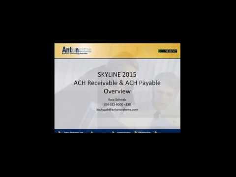 SKYLINE ACH Payables and Receivables Webinar