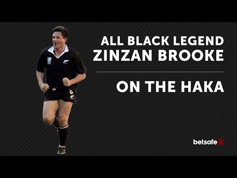 All Blacks v Lions, Tradition of the Haka - Zinzan Brooke