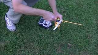HobbyZone Champ RC Plane Conversion To Brushless Motor Power System - Part II