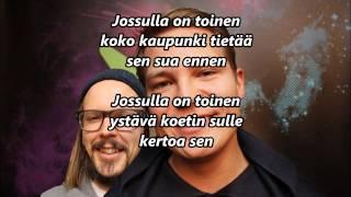 Cheek - Jossu feat. Jukka Poika (Sanat näytöllä)
