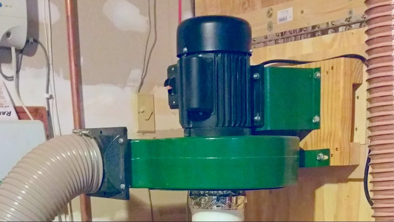 Harbor Freight Dust Collector Upgrade - YouTube