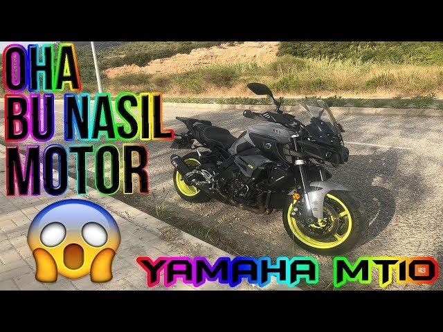 BU NASIL MOTOR YAHU !  YAMAHA MT-10