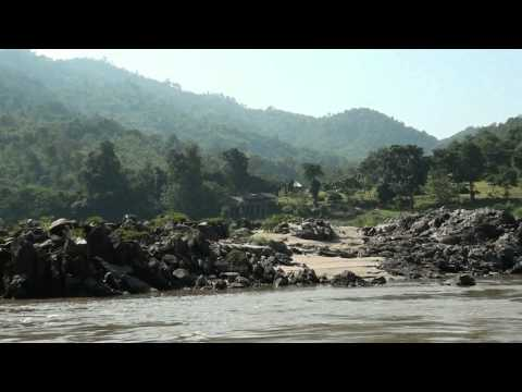 Sail on the Mekong-river  especially  in Laos