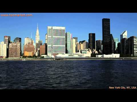 Midtown Manhattan seen from the East River 3 Collage Video