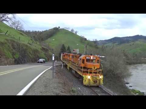 CORP train heading to Dillard Oregon