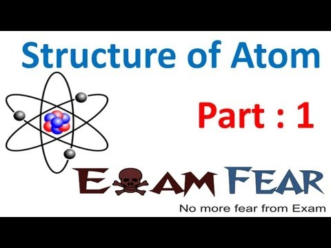 Chemistry Structure of Atom part 1 (History of atom) CBSE class 11 XI
