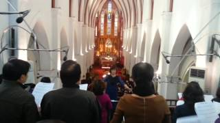 Ban ca đoàn của nhà thờ chính tòa Hà Nội
