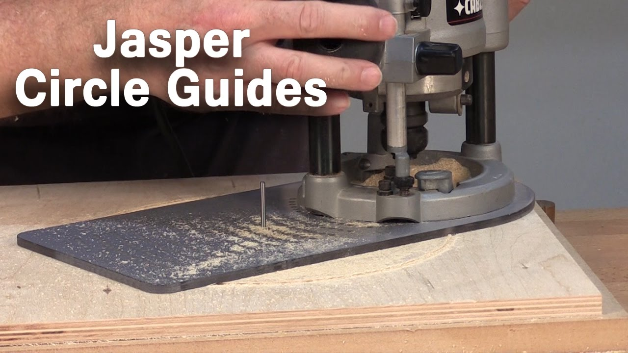 How To Cut Perfect Circles using your Router with Jasper ...