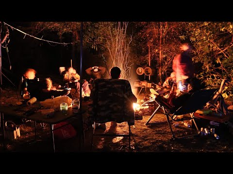 BARRINGTON TOPS CAMPING AT CURRAWONG CAMP GROUND. Plus Australian Bush Cooking !