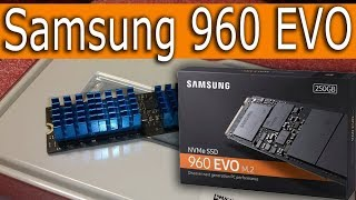 SSD Samsung 960 EVO 250GB MZ-V6E250BW |Греется SSD|