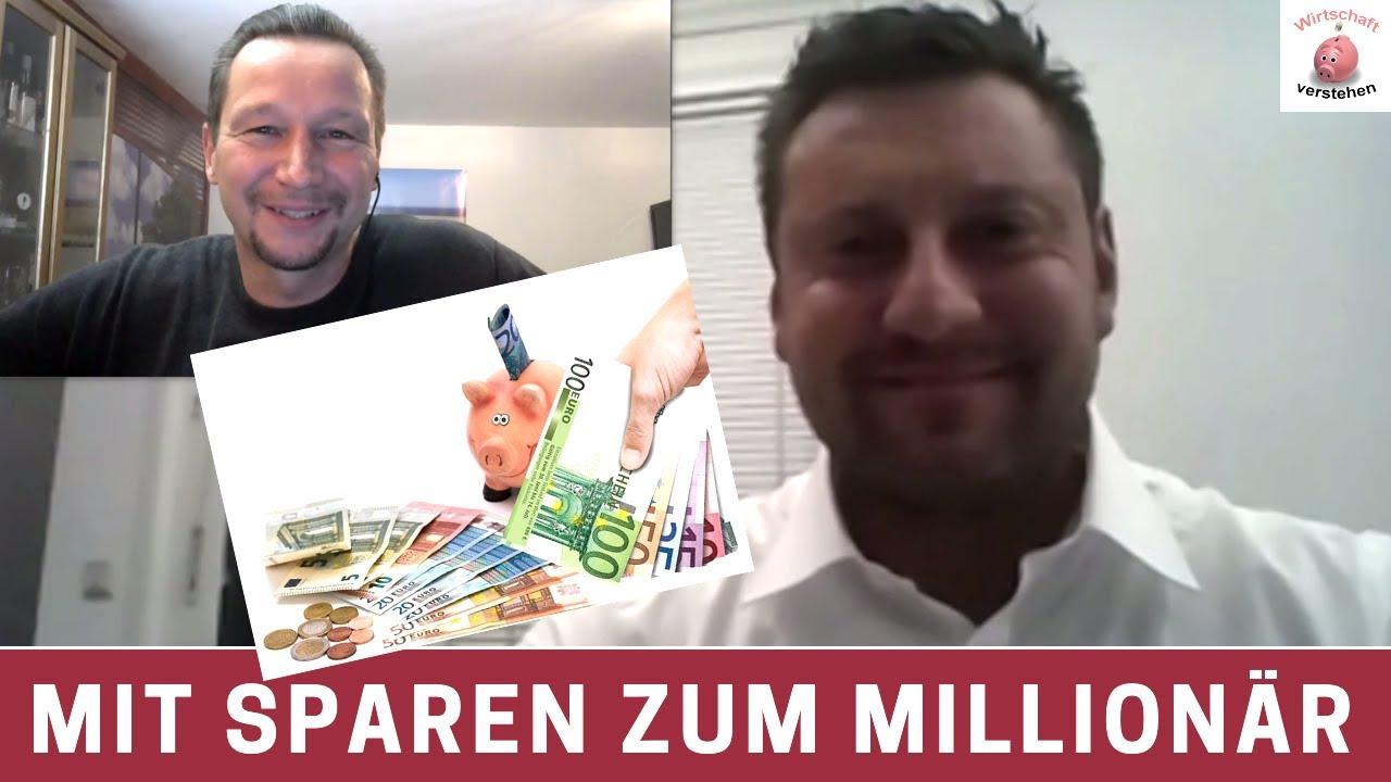 Mit Sparen zum Millionär - Finanzexperte Christian Wielgus im Interview