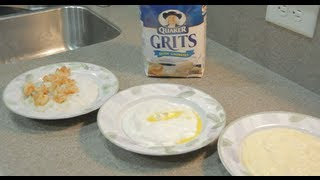 How to Clean and Cook,Smooth & Creamy Grits without Splatter/Burns
