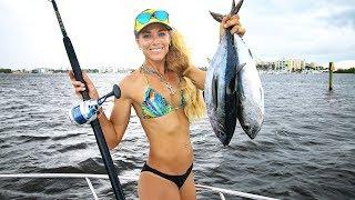 Deep Sea Fishing for DINNER FISH!